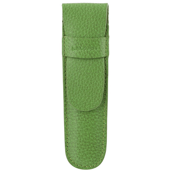 Laurige Single Leather Light Green Pencil Case