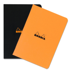 A4 Large Side-Stapled Rhodia Notebook - Squared