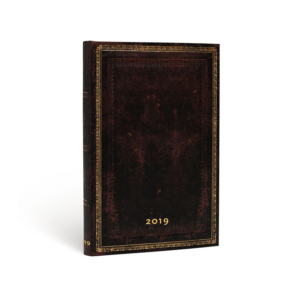 Black Moroccan Grande Paperblanks 12 Month Week At A Time 2019 Diary – Vertical