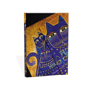 Mediterranean Cats Mini Paperblanks 12 Month Week At A Time 2019 Diary – Horizontal
