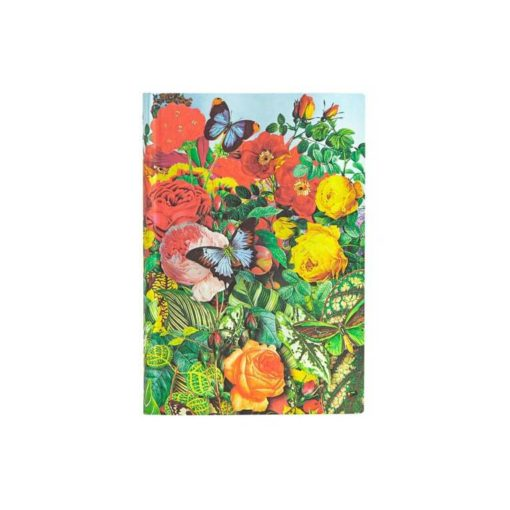 Butterfly Garden Flexis Midi Lined Paperblanks Journal