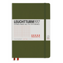 Leuchtturm A5 Notebook Medium Dotted Hardcover – Red Dots Special Edition