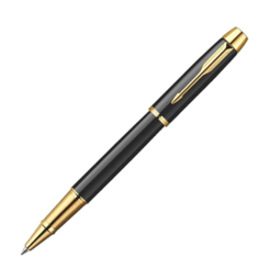 Parker IM Black Gold Trim Rollerball Pen
