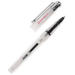 Herbin Transparent Rollerball Pen With Converter
