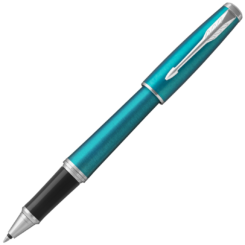 Parker Urban Vibrant Blue Chrome Trim Rollerball Pen
