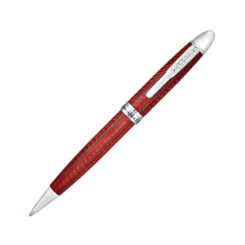 Conklin Herringbone Burgundy Ballpoint Pen