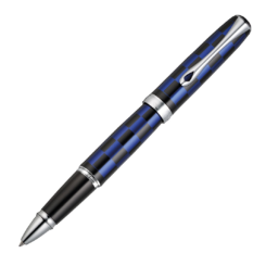 Diplomat Excellence A Plus Rome Black Blue Rollerball Pen