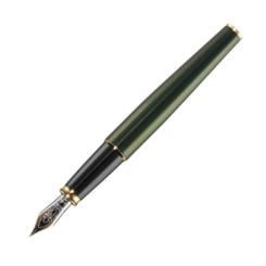 Diplomat Excellence A2 Evergreen Gold Fountain Pen