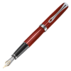 Diplomat Excellence A2 Skyline Red Fountain Pen 14 ct nib
