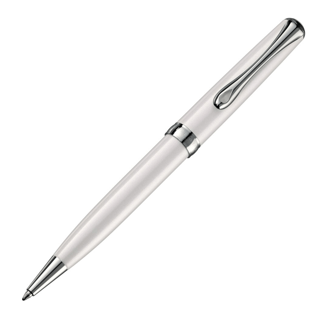 Diplomat Excellence A2 Pearl White Ballpoint Pen