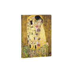 Klimts 100th Anniversary - The Kiss Midi Unlined Paperblanks Journal