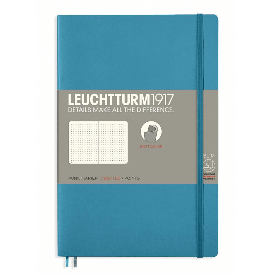 Leuchtturm Paperback B6+ Dotted Notebook - Softcover