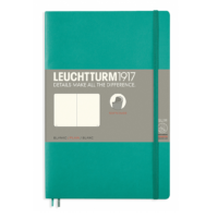 Leuchtturm Paperback B6+ Plain Notebook - Softcover
