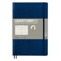 Leuchtturm Paperback B6+ Ruled Notebook - Softcover