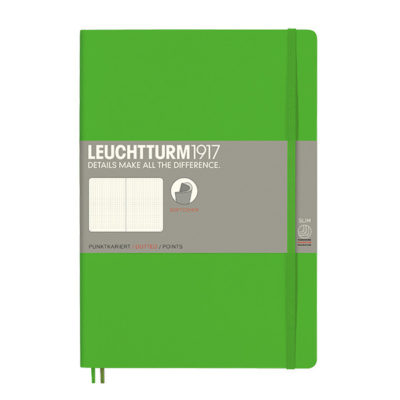 softcover blank fresh green