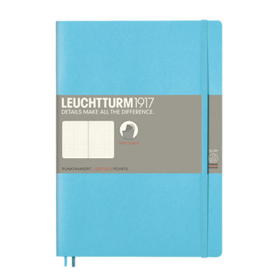 softcover blank ice blue