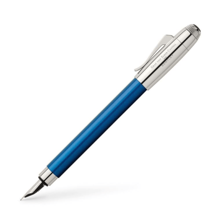 Graf von Faber-Castell for Bentley Sequin Blue Fountain Pen