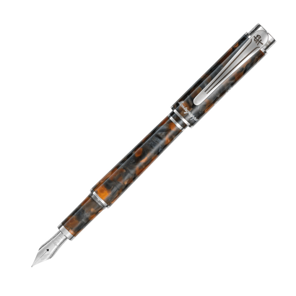 Montegrappa Ernest Hemingway Novel Amber Grey Limited Fountain Pen