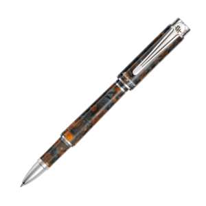 Montegrappa Ernest Hemingway Novel Amber Grey Limited Rollerball Pen