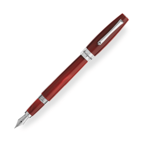 Montegrappa Felicità Red Velvet Fountain Pen