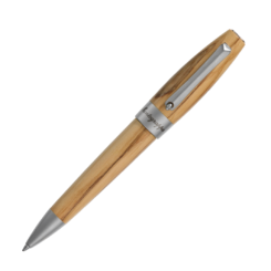 Montegrappa Heartwood Olive Ballpoint Pen With Notebook