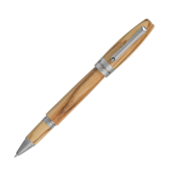 Montegrappa Heartwood Olive Rollerball Pen With Notebook