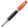 Montegrappa Miya Carbon Orange Fountain Pen