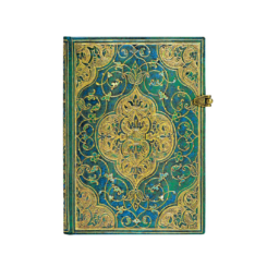 Turquoise Chronicles Midi Lined Paperblanks Journal