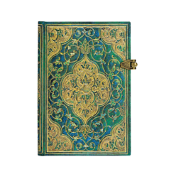 Turquoise Chronicles Mini Lined Paperblanks Journal