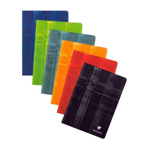 A4 Stapled Lined Clairefontaine Notebook/ASSORTED