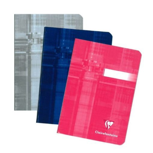 A6 Stapled Lined Clairefontaine Notebook/ASSORTED