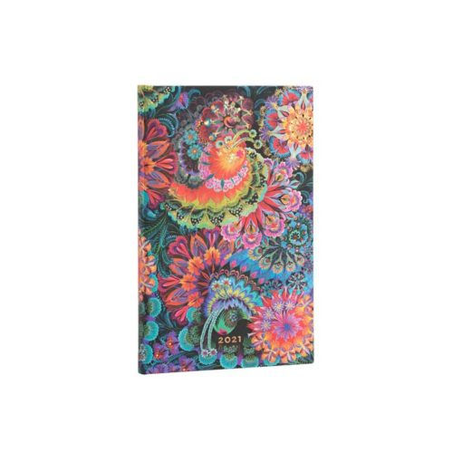 Paperblanks Moonlight 2021 - Mini 12 Month Planner (Week At A Time)