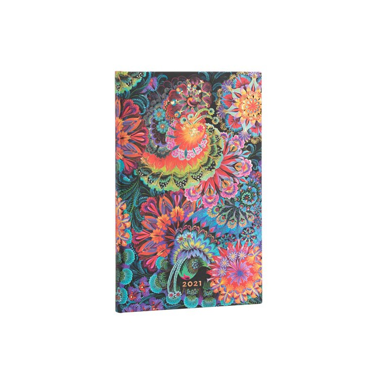Paperblanks Moonlight 2021 - Maxi 12 Month Planner (Week At A Time)