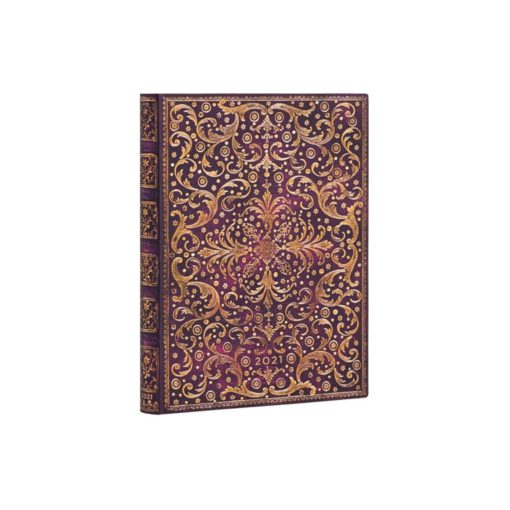 Paperblanks Aurelia 2021 - Flexis Ultra 12 Month Planner (Day At A Time)
