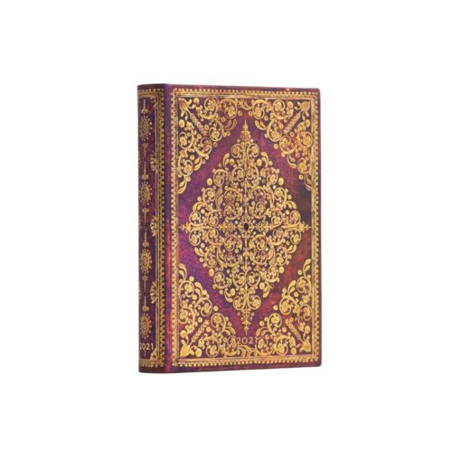 Paperblanks Viola 2021 Mini 12 Month Planner