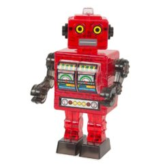 Crystal Puzzle 3D Robot Red Jigsaw Puzzle - 39 Pieces