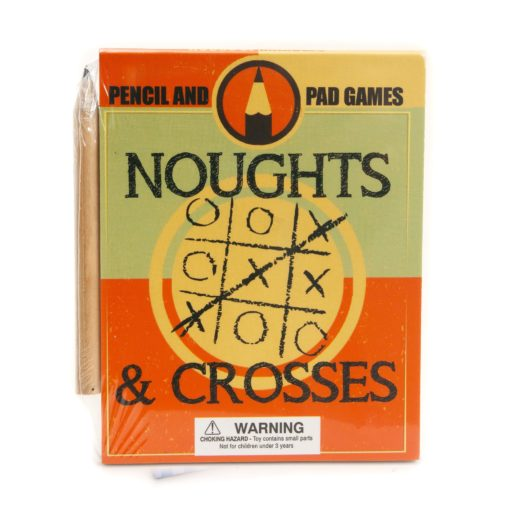 Noughts and Crosses a Pencil and Pad Games