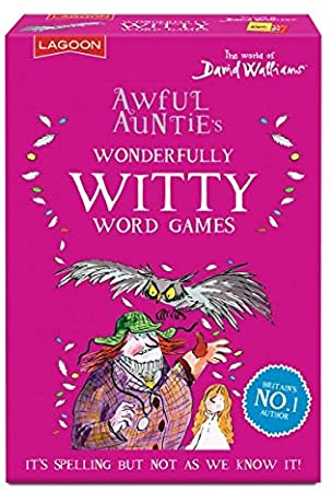 Awful Aunties Wonderfully Witty Word Games by David Walliams