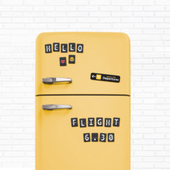 Something To Write Fridge Magnet Set