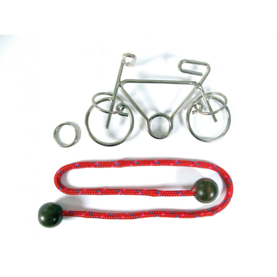 Metal Bike Wire Puzzle by Constantin Puzzles