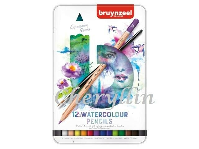 BRUYNZEEL Expression Water Colour Pencils 12 Pieces