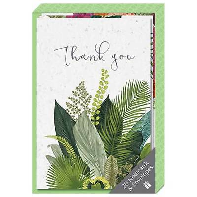 Thank You Note Card Collection - Botanicals