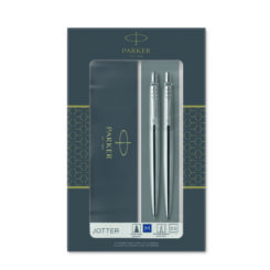 Parker Jotter Duo Chrome Trim