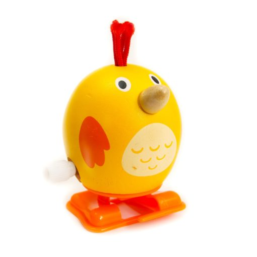 Wind Up Wooden Chicken Toy