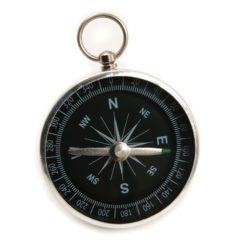 Metal Adventurer's Compass