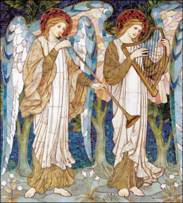 Musical Angels Pack of 5 Christmas Cards