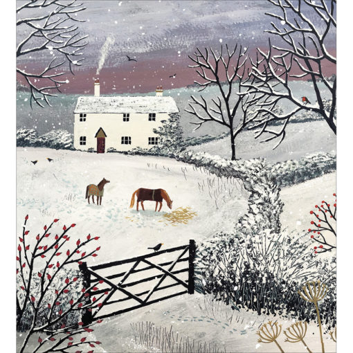 Christmas on the Fields Pack of 5 Christmas Cards
