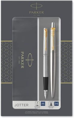 Parker Jotter Duo Set Fountain and Ballpoint