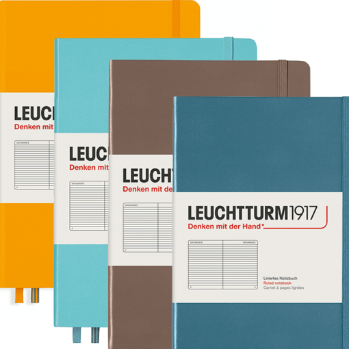 Leuchtturm A5 Hardcover Notebook - Rising Colours Collection
