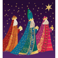 We Three Kings Pack of 5 Christmas Cards